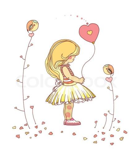 4588834-little-girl-the-little-girl-with-a-balloon-raster-illustration